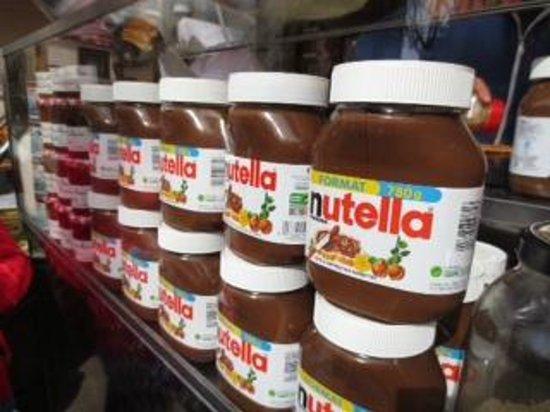 Mich Sandwiches: Nutella crepes!