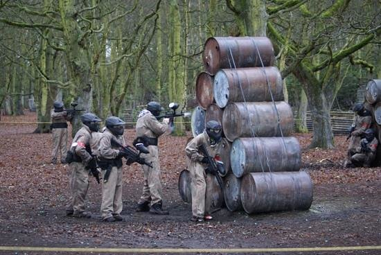 Delta Force Paintball Lichfield: Impressive Ivywood - awesome day out !