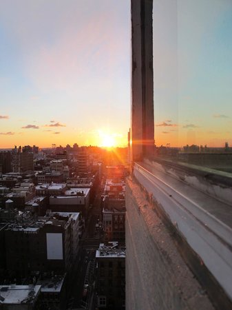 The James New York: from room