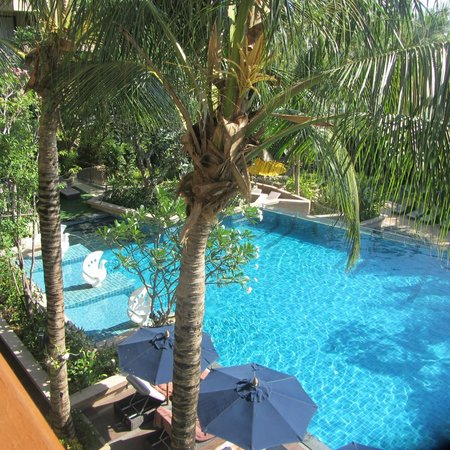 Avista Phuket Resort & Spa: view from room balcony