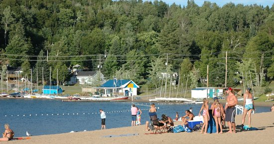 Sainte Agathe des Monts, Kanada: Plage Major, Lac des Sables Sainte-Agathe-des-Monts