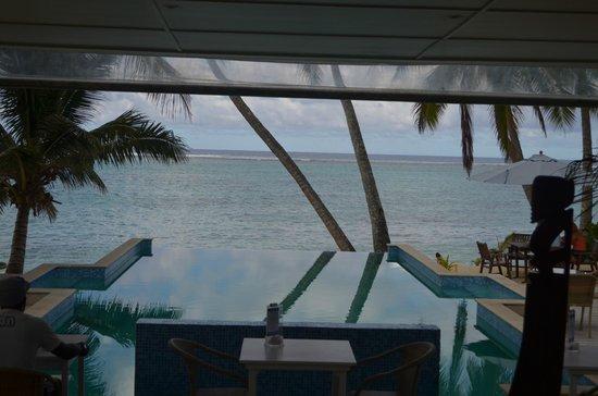 Little Polynesian Restaurant & Bar: Wow what a view.