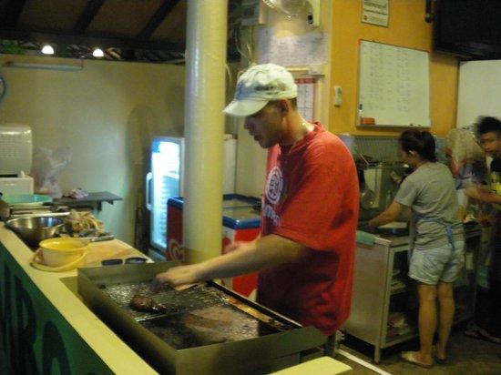 Bamboo Grill & Bar: immer fleißig