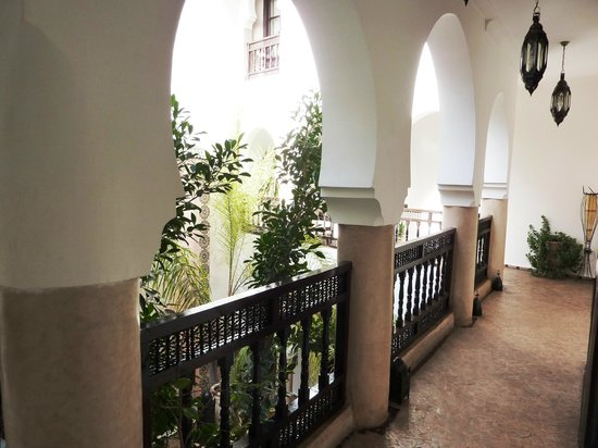 Riad Mur Akush: Patio view from first floor