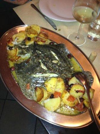 San Terenzo, İtalya: il rombo alla ligure!!!
