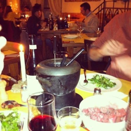 L'Orto del Frate : fondue