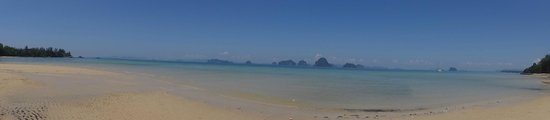 The Tubkaak Krabi Boutique Resort: View from the beach