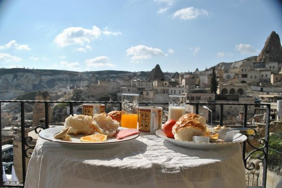 Canyon View Hotel: Breakfast in an idyllic place!