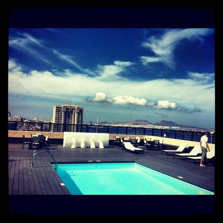 AC Hotel Iberia Las Palmas: Rooftop pool