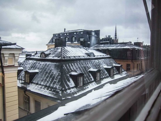 Scandic Gamla Stan: Roof top view