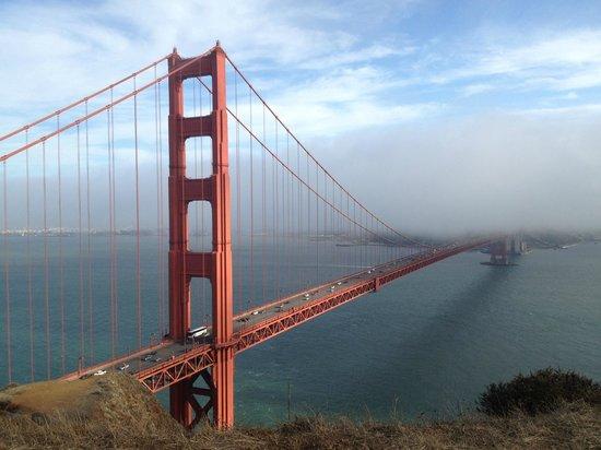 Golden Gate Bridge: View from Battery Spencer, Marin Headlands