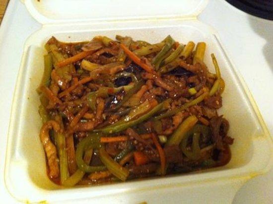 Mandarin Palace Restaurant: Twice-cooked pork