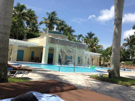 Hyatt Regency Coconut Point Resort and Spa: Water Fall Pool