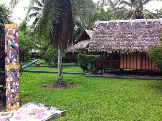 Coco Loco Lodge: La cabaña