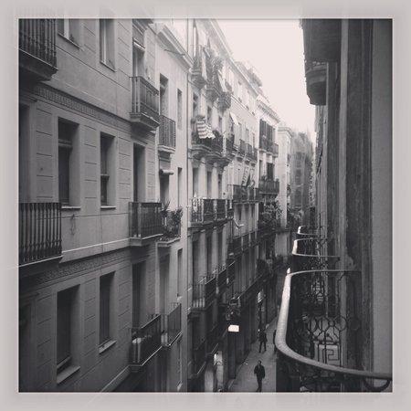 Hotel Lloret Ramblas: Vue de la chambre