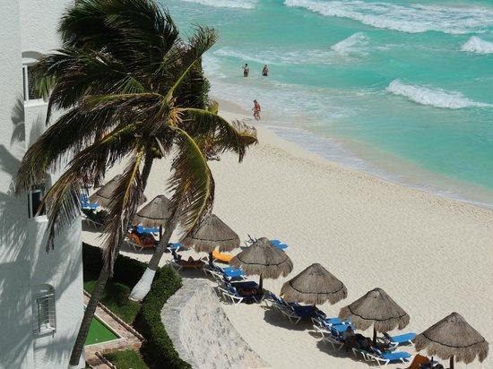 Apartamentos Cancun Plaza: hermosa vista desde el balcon