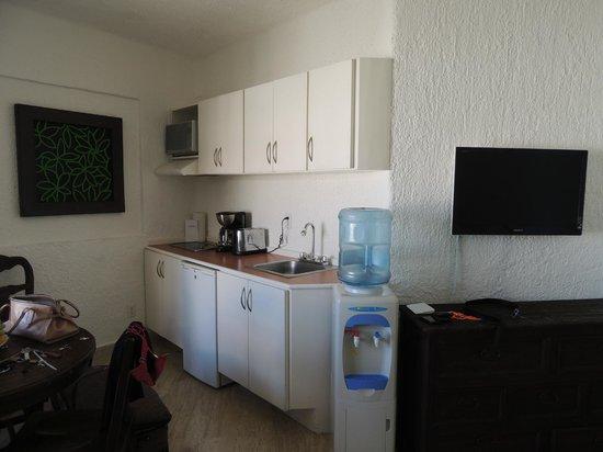 Apartamentos Cancun Plaza: cocina completa