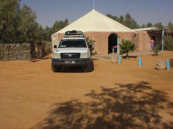 Campement Ain Essebat: Restaurant/bar