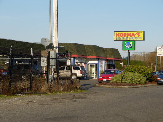 Norma's Burger: Norma,s Martin Way, Lacey