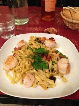 La table de Yann : Pesto de St Jacques