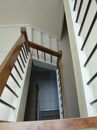 The Yachtsman Condominium Rentals: Arty shot of the stairwell. 3 storey property