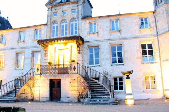 Chateau du Four de Vaux : Façade château