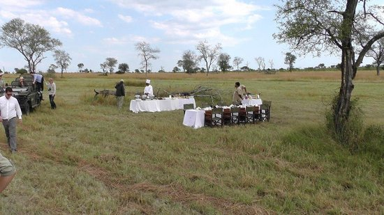 Sabi Sabi Little Bush Camp: Breakfast is served