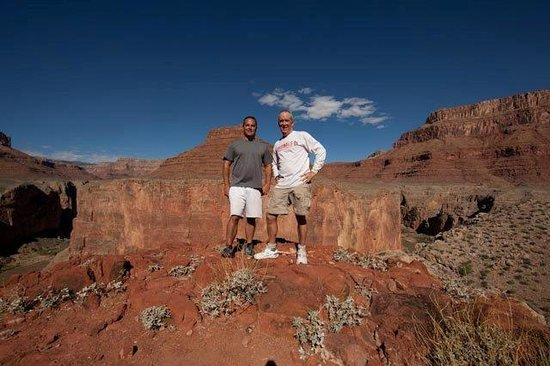 Outdoors Unlimited Grand Canyon Rafting : Hiking at Point Hansbrough