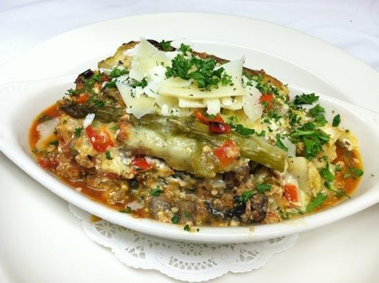 Adam's Restaurant: Eggplant Parmesan