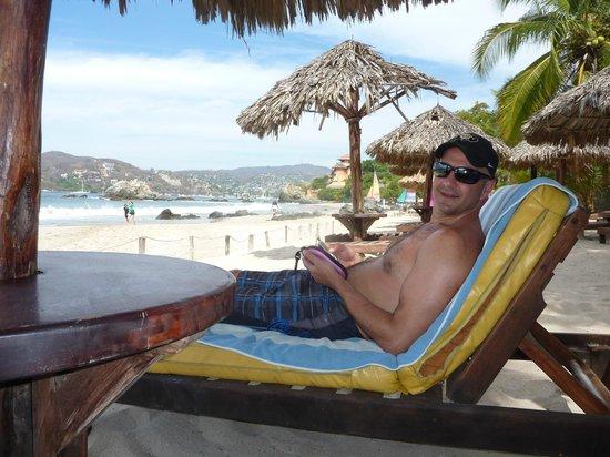 Catalina Beach Resort: Palapa 12
