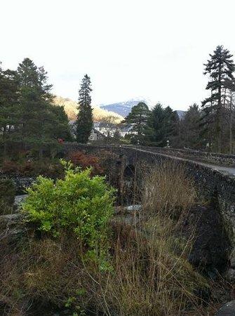 Dochart Falls: the falls