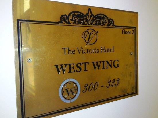 "Ibis Styles Melbourne, The Victoria Hotel: The ""West Wing"" :)"