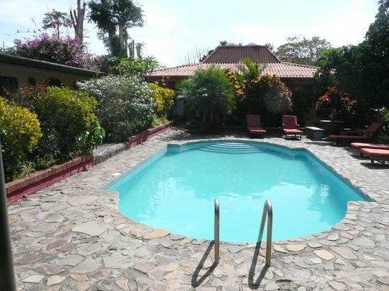 Dos Palmas Country Inn La Garita: Large secluded pool
