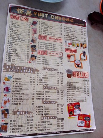 Yuit Cheong: Wide variety of drinks