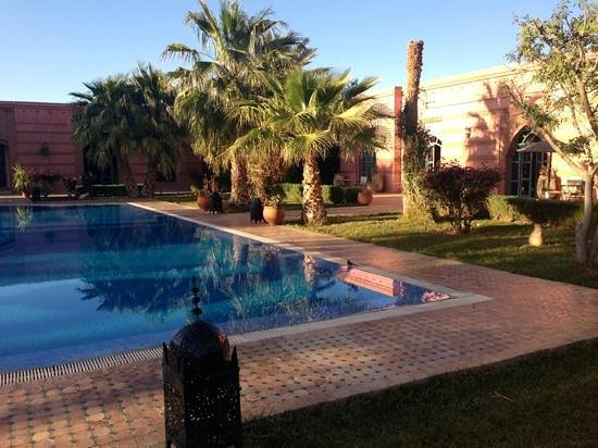 Hotel Le Riad: morning by the pool
