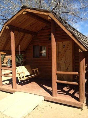 Kingman KOA : cabin