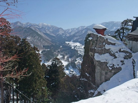 Yamagata, Giappone: View from temple