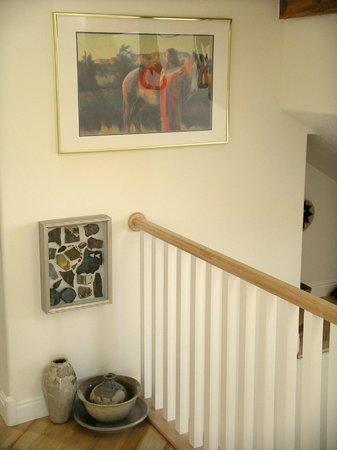 Torrey Schoolhouse: Stairwell
