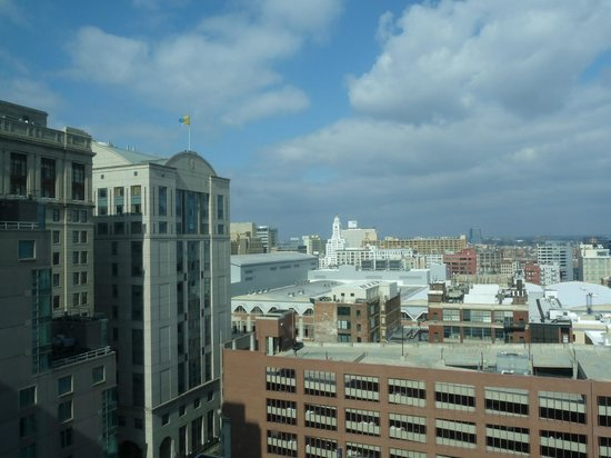 Philadelphia Marriott Downtown: View from Room