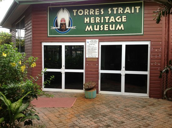 Gateway Torres Strait Resort: Museum situated within Gateway grounds