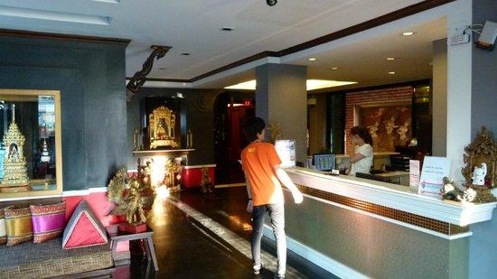 Chalelarn Hotel Hua Hin: Reception