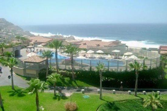 Pueblo Bonito Sunset Beach Golf & Spa Resort: view from our veranda