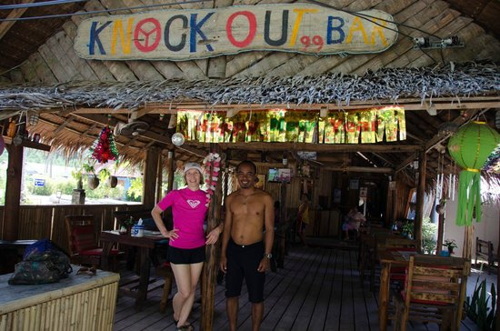 Knock Out Bar: The bar