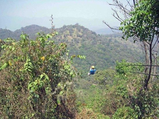 Zip Line at Natura Camp