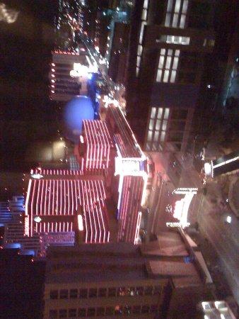 Harrah's Reno: View of Reno Arch from 16th Floor of Harrah's...