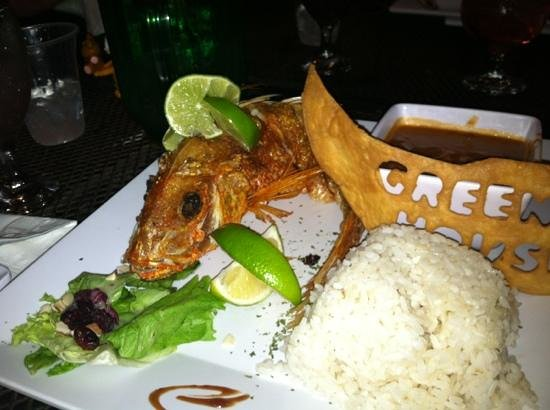 Greenhouse Cafe Dorado: over done snapper...would not suggest