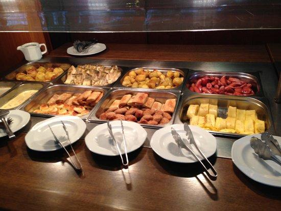 Hotel Oreanda: завтрак