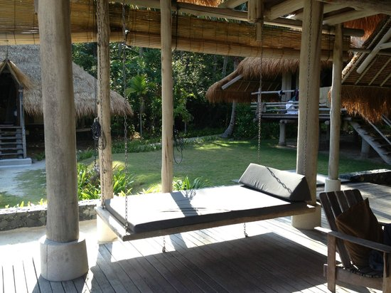 Nikoi Island: places to relax in our 3 bedroom 'village'