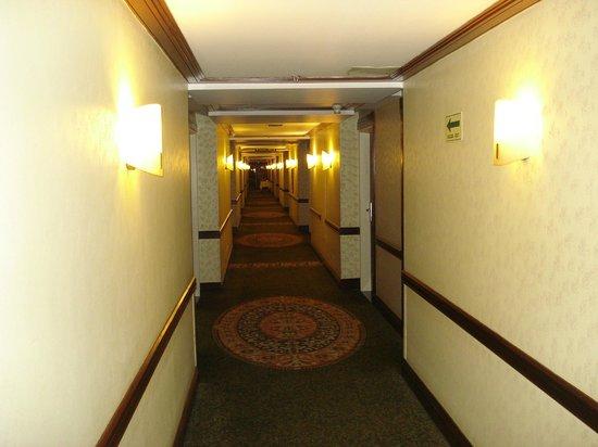 InterContinental Tamanaco Caracas: Pasillo piso 9
