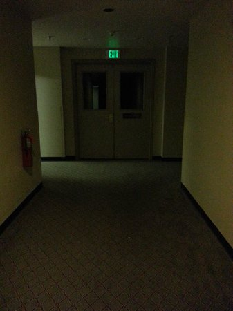 The Timbers Hotel : Want to work out? Have fun going into the dark basement in a back corner of the property - spook